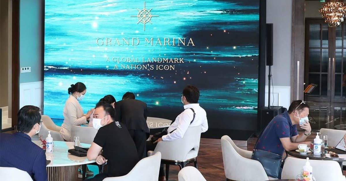 Khai trương mở bán giao dịch căn hộ hàng hiệu Grand Marina Saigon Ba Son Chợ Đất