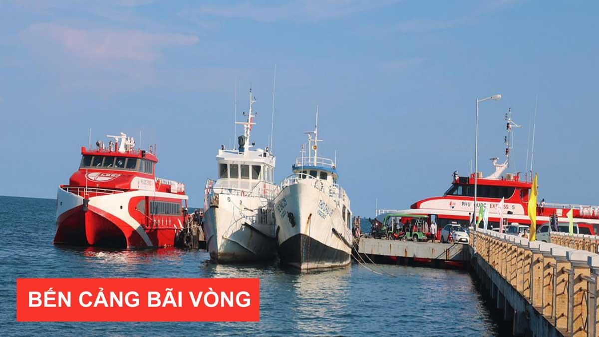 bến cảng bãi vòng tàu cao tốc phú quốc hàm ninh đầu tư khách sạn nghỉ dưỡng biển