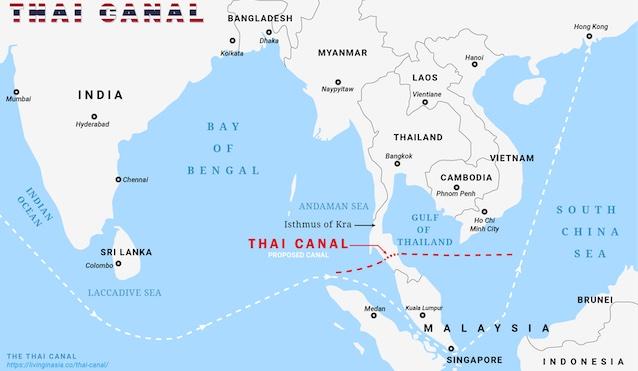 Kênh đào Kra Canal Thái Lan giúp kinh tế Phú Quốc trở thành Singapore thứ 2 tiềm năng đầu tư cực lớn tại đồng tranh bãi vòng cảng hàm ninh