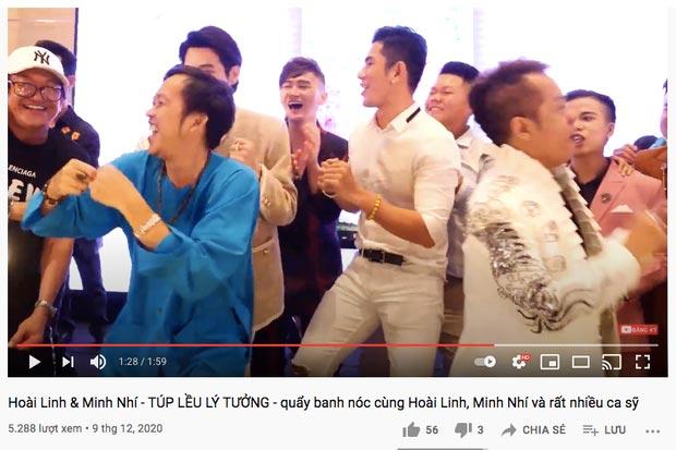clip nghệ sĩ Hoài Linh nhảy vinahey cực sung cùng nghệ sỹ Minh Nhí sau khi cách ly xạ trị không lâu