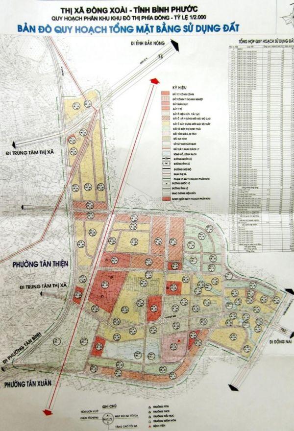 DT 753 bản đồ quy hoạch giá bán đất nền bất động sản bình phước dậy sóng
