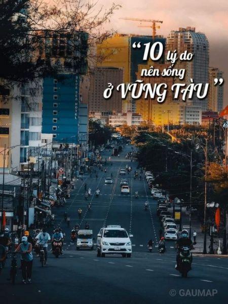 10 Lý do nên sống ở Vũng Tàu