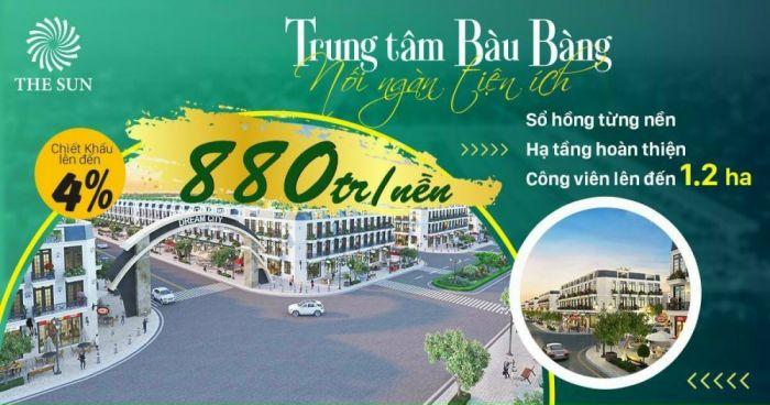 thumb_Đất nền Bàu Bàng Bình Dương The Sun Dream City