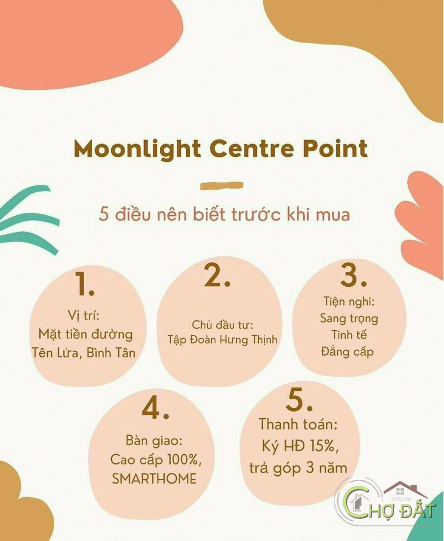 Đánh giá Dự án Moonlight Centre Point Bình Tân