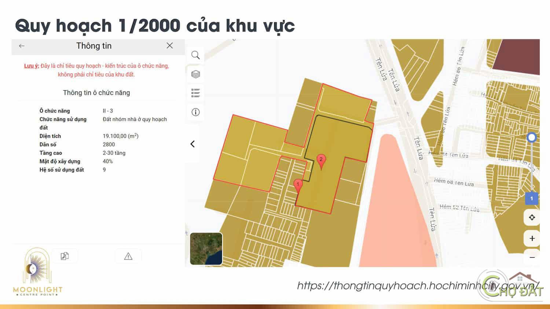 Pháp lý dự án Moonlight Centre Point Bình Tân