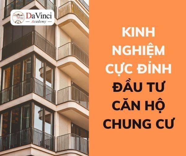 Kinh nghiệm đầu tư căn hộ chung cư