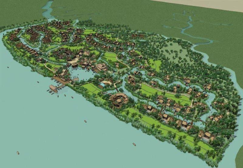 UBND tỉnh Đồng Nai vừa có quyết định phê duyệt điều chỉnh tổng thể quy hoạch chi tiết tỷ lệ 1/500 Khu đô thị du lịch sinh thái Six Senses Sài Gòn River huyện Nhơn Trạch