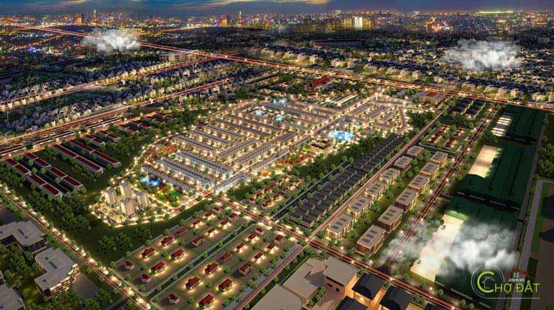 Phối cảnh Tổng quan dự án đất nền trảng bom sông mây PNR Estella Đồng Nai
