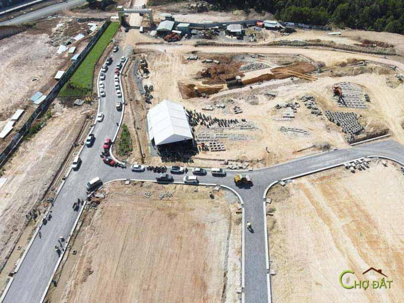 Tiến độ dự án đất nền trảng bom sông mây PNR Estella Đồng Nai - Chợ Đất
