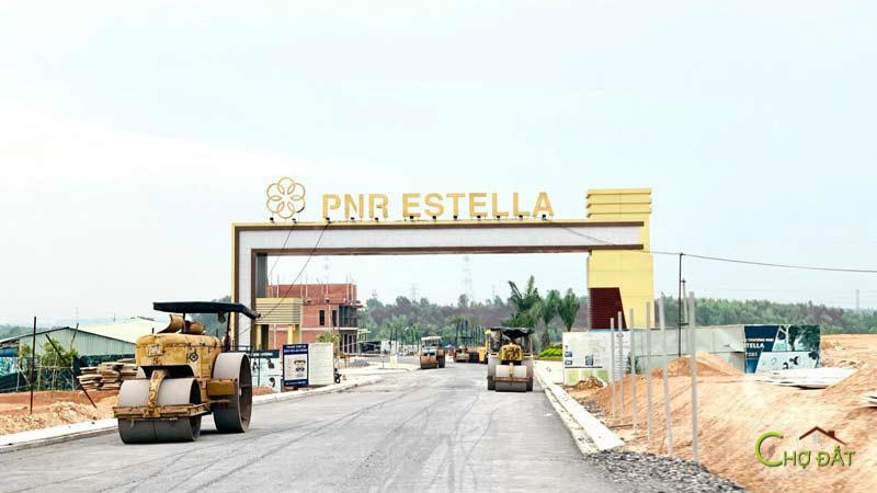 Cổng chào dự án đất nền trảng bom sông mây PNR Estella Đồng Nai