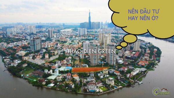 Dự án Căn hộ Thảo Điền Green quận 2 nên mua hay ở ?!