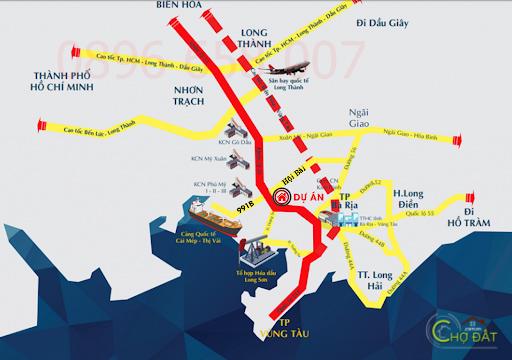 Điểm khác nhau giữa KCN sân bay Long Thành và KCN Cảng Cái Mép Thị Vải