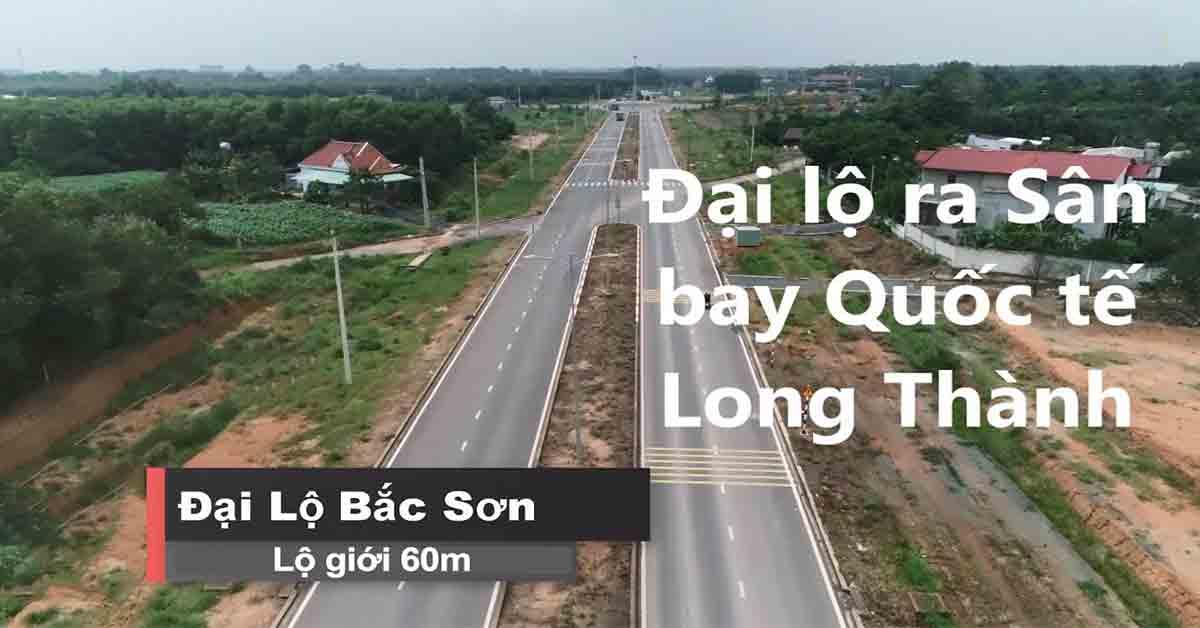 Đại lộ Bắc Sơn Long Thành 60m lộ giới