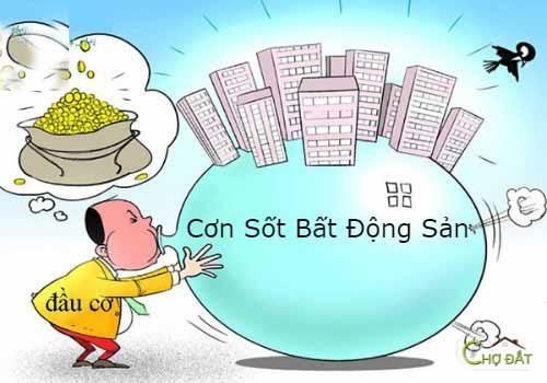 Cơn sốt bất động sản trở thành bong bóng