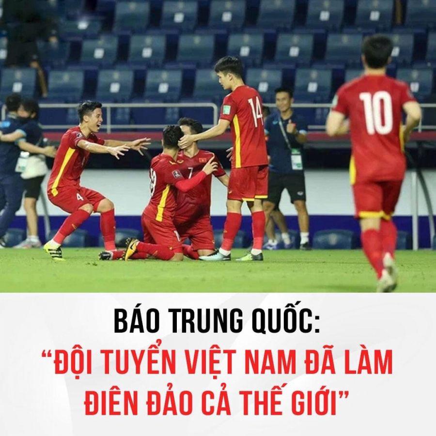 Đội tuyển bóng đá Việt Nam làm điên đảo thế giới