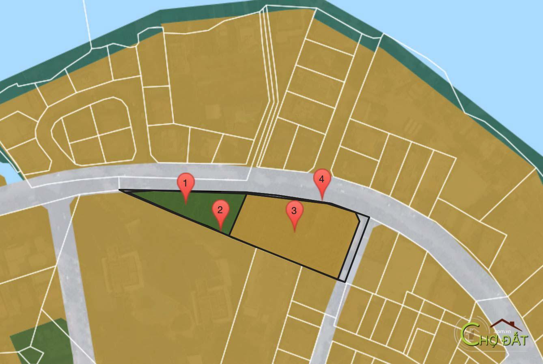 Quy hoạch thảo điền green - tờ 3 thửa 16, Thảo Điền Quận 2, diện tích 5434,73 m2