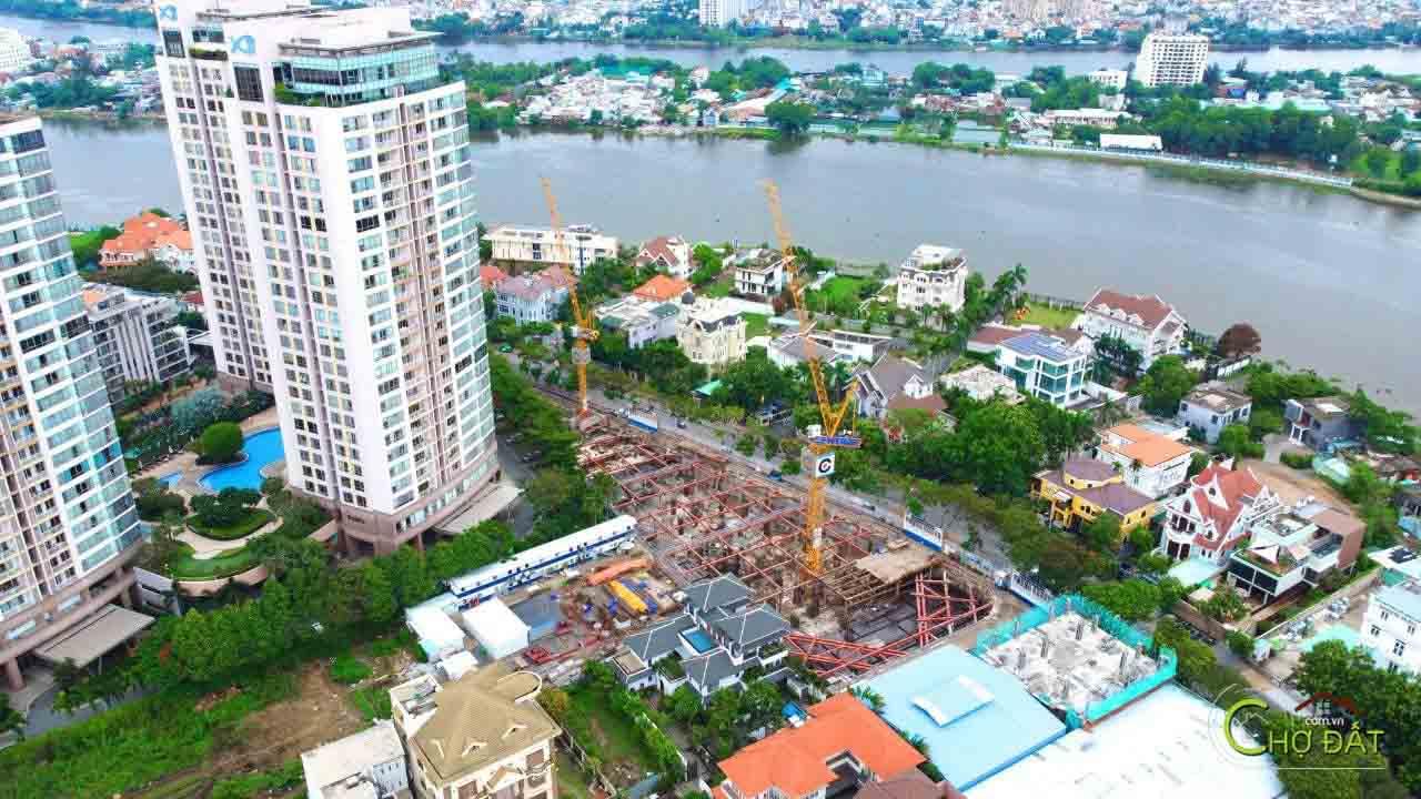 Tiến độ thi công dự án căn hộ chung cư Thảo Điền Green Quận 2