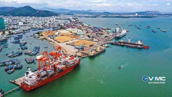 Hơn 500 tỷ đồng nâng cấp mở rộng cảng Quy Nhơn