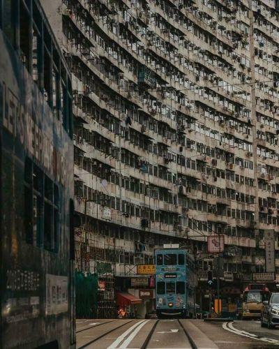 Hồng Kông Khu chung cư hơn 60 tuổi