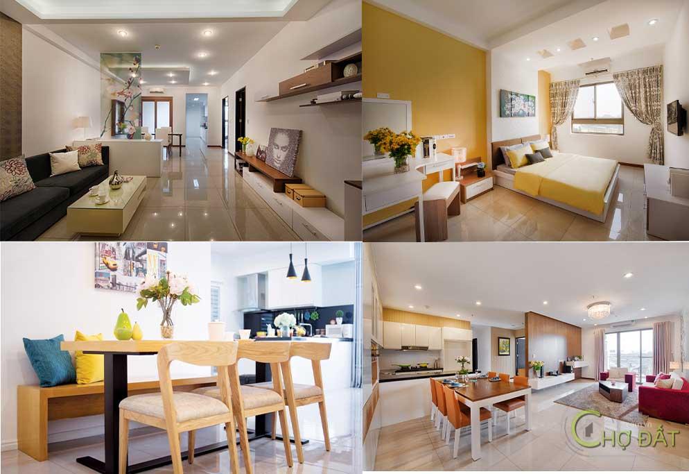 Nội thất căn hộ dự án Docklands Sài Gòn