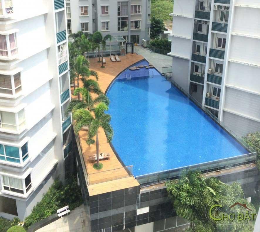 Review bể bơi chung cư Phú Mỹ
