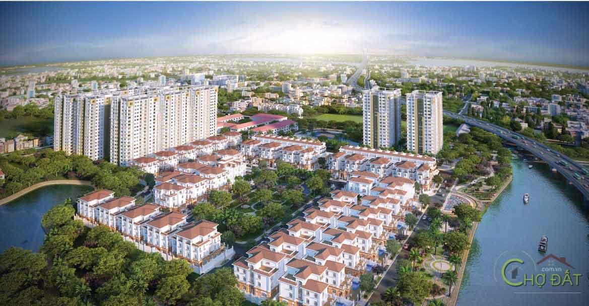 Vị trí dự án Docklands Sài Gòn