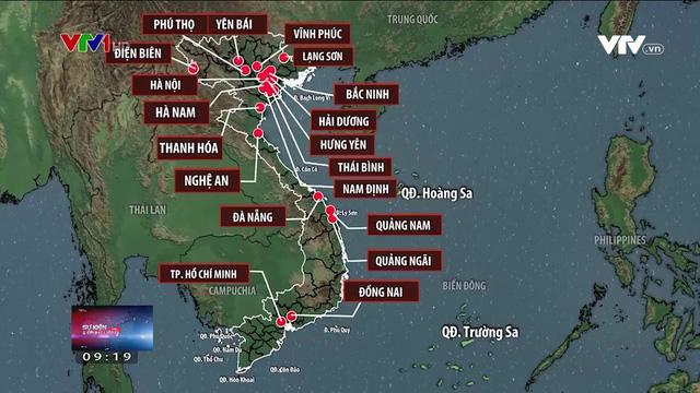 thumb_Việt Nam: Bộ nội vụ đề xuất sáp nhập thành 54 tỉnh thành!