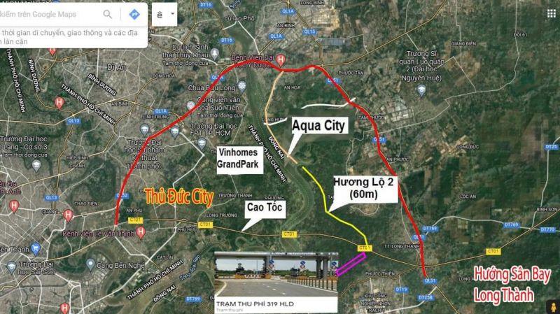 thumb_Thông xe nút 319 Nhơn Trạch với cao tốc Long Thành