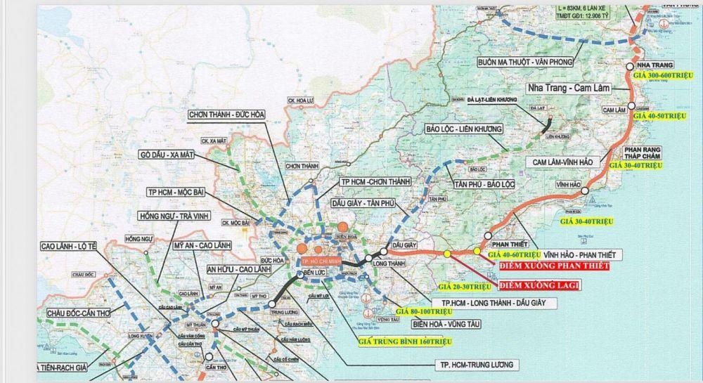 Giá đất trung bình các vùng ven biển Việt Nam