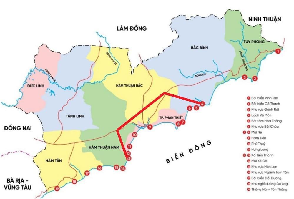 Đầu tư Bình Thuận ở đâu khi nào ?!