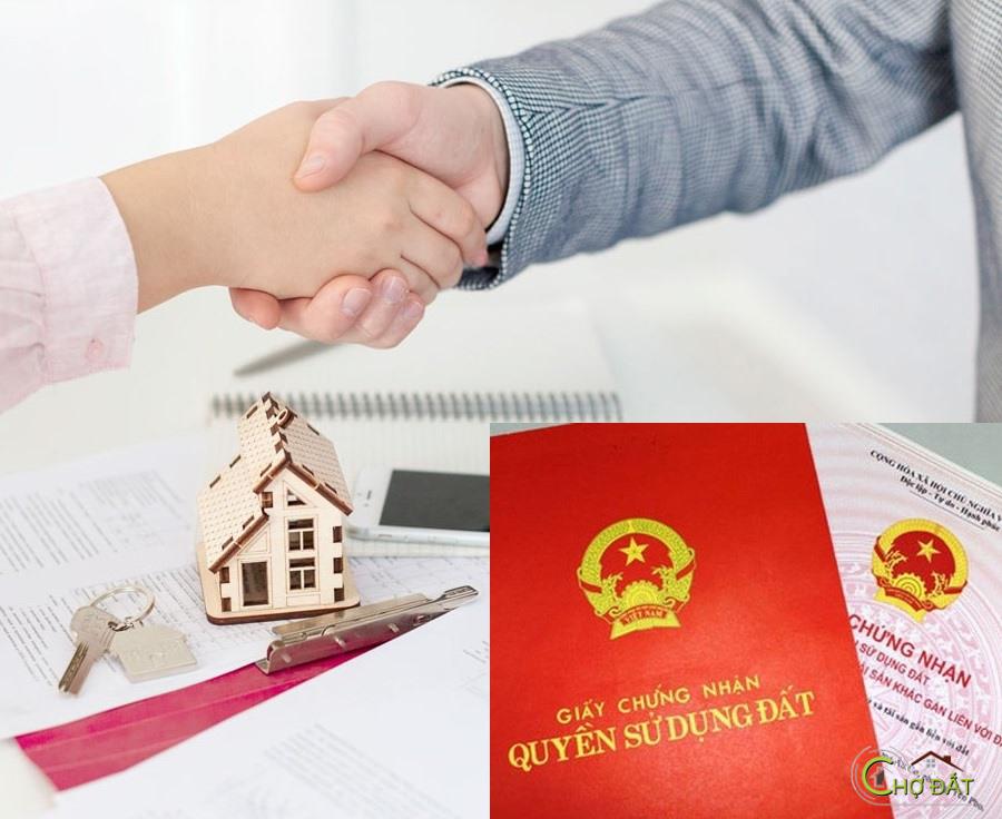 Quy trình mua bán chuyển nhượng căn hộ, nhà phố, đất đai đã có sổ đỏ.