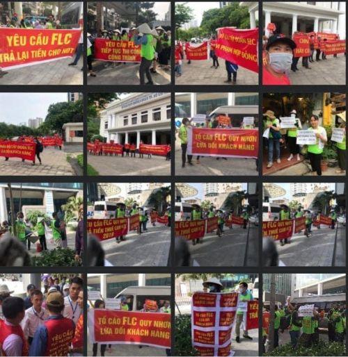 FLC tập đoàn nghìn tỷ bị biểu tình