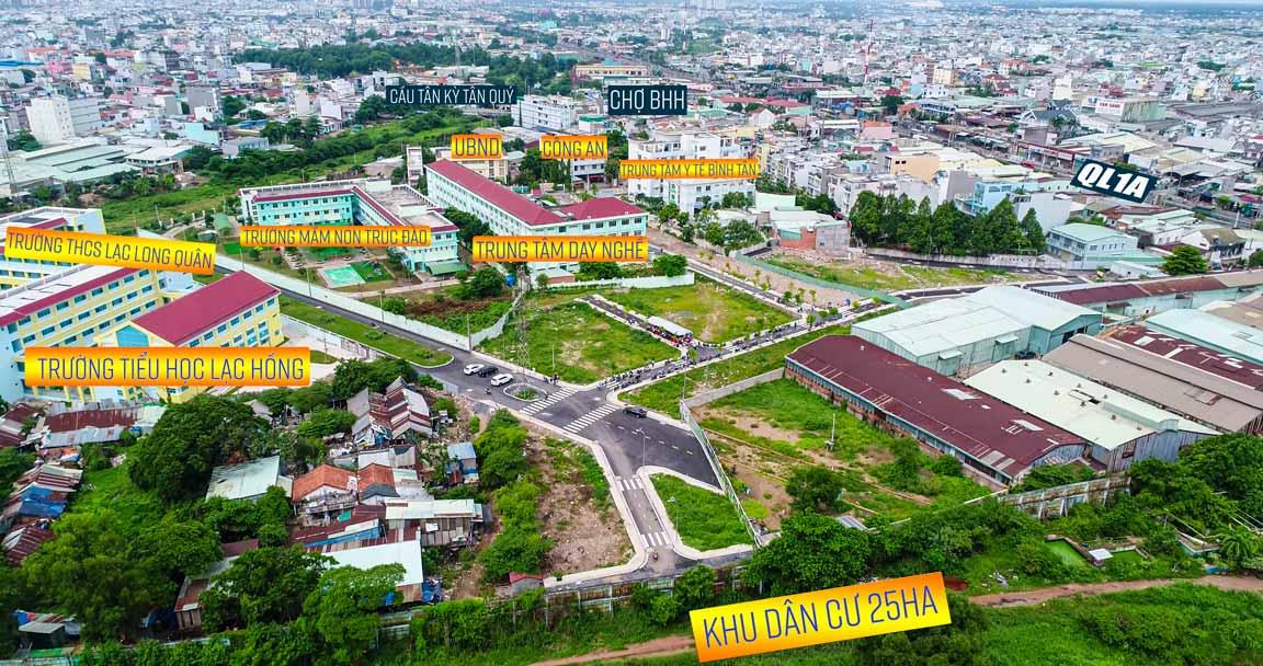 Đất nền Bình Tân Tân kỳ tân quý Saigon West Garden - Chiến lược đầu tư bất động sản