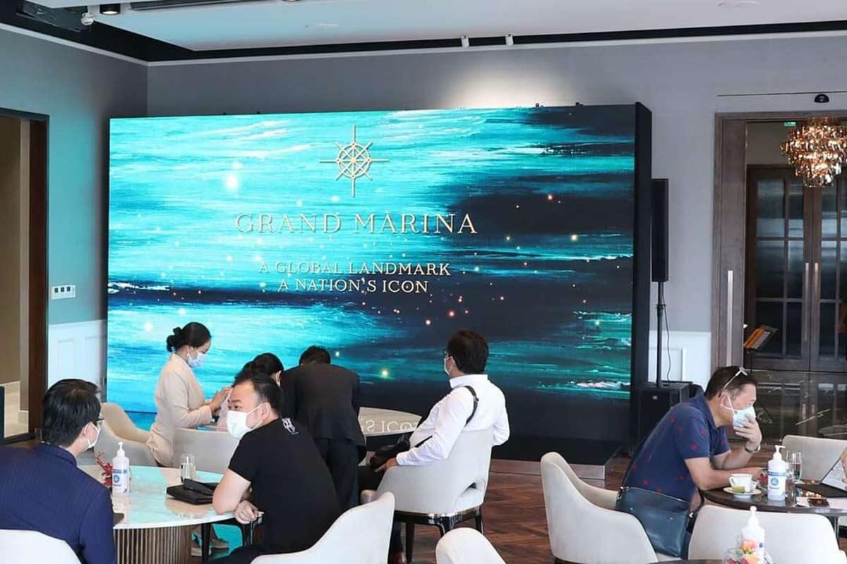 phản hồi tích cực của khách hàng khi giao dịch căn hộ hàng hiệu Grand Marina Saigon